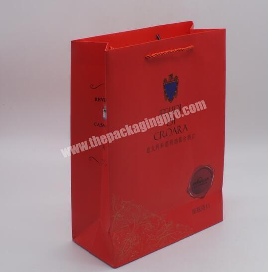Manufacturer China manufacturer Gift bag with hand tag Gift bag with printing