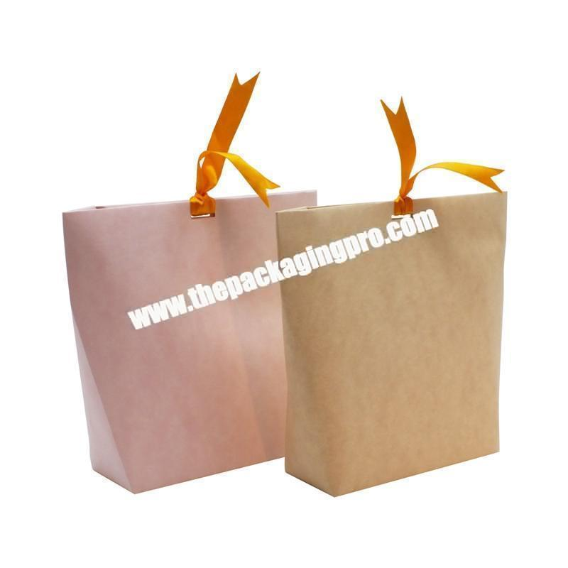 Factory Pen Bags Magnetic In Tea Packaging Custom For Cake Kraft Textile Shopping Paper Gift Bag And Box
