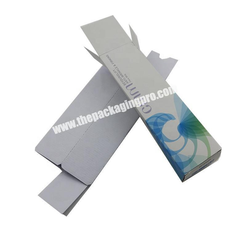 Manufacturer Luxury Printing 350gsm artcard  Cream Cosmetic Paper Packaging Box