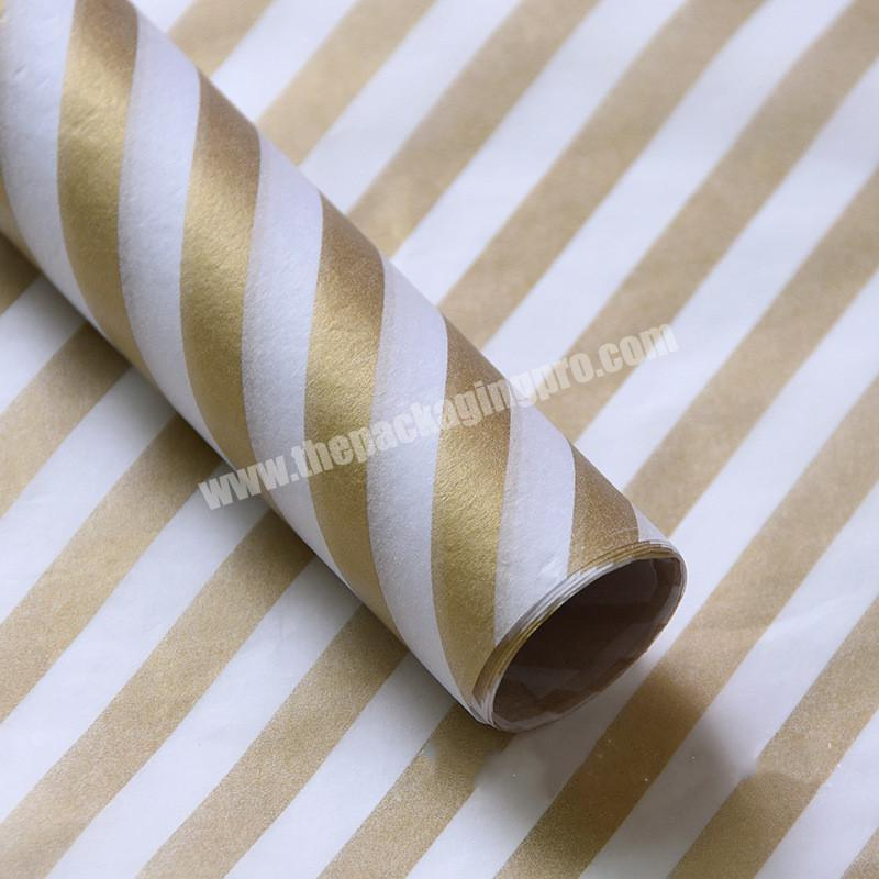 Shop Fashionable Custom Printed Colour Wrapping Tissue Paper For packaging clothes Gift  With Your Brand Logo