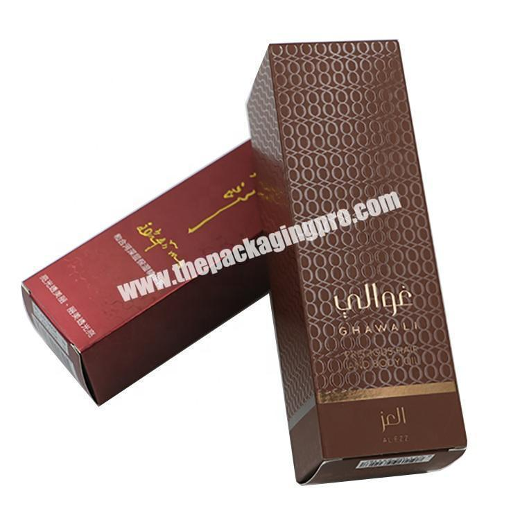 Simple Perfume Oil Paper Different Types Gift Packaging Box