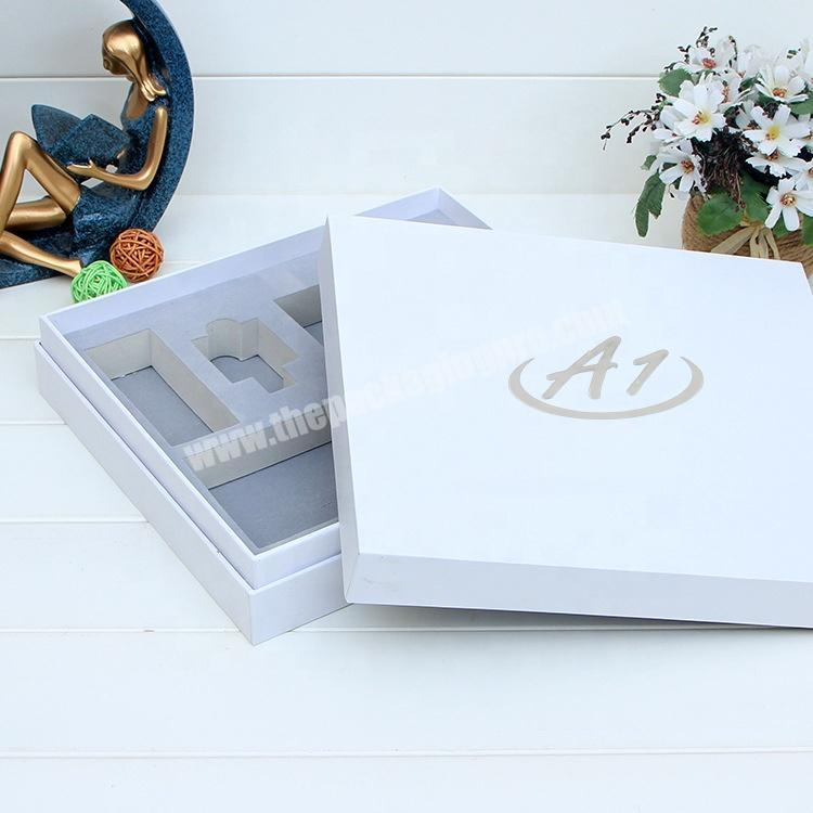 Factory Made  Cosmetic Perfume Gift Skin Care Set Packaging Box With Stamping Logo