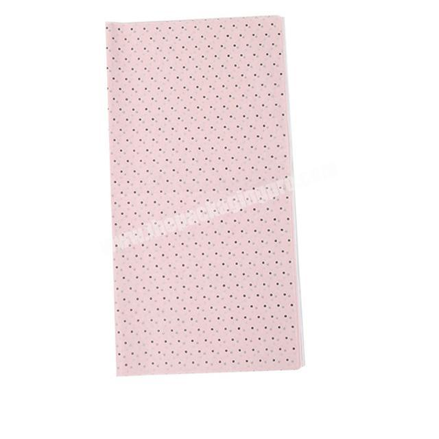 Custom Factory Price Personalized Brands names wrapping paper custom printed flower wrapping tissue paper for packaging