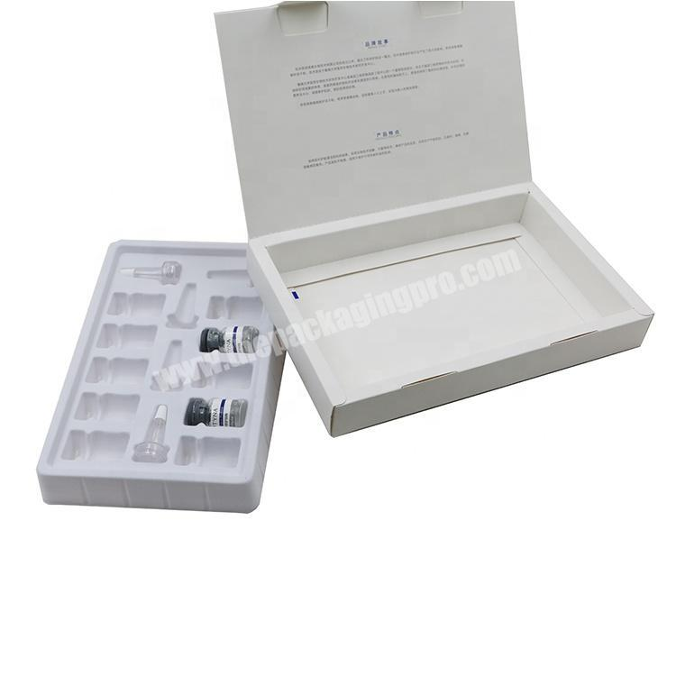 Wholesale Creative Hyaluronic acid Paper Packaging Perfume Box for 30ML Bottle