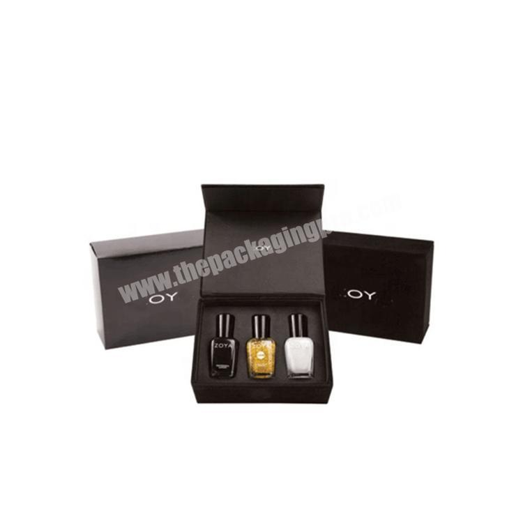 Wholesale Paper Empty Gel Gift Set Polish Nail Box With Dividers