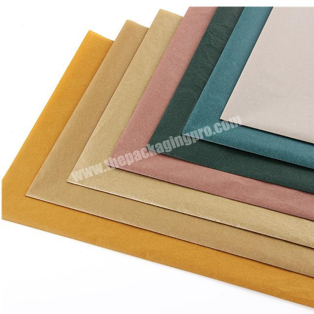 Supplier Factory professional printed logo high quality 17gsm colour shoes wrapping tissue paper