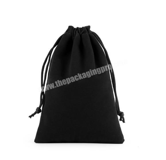Multi-color velvet material drawstring jewelry dust bags with customized logo