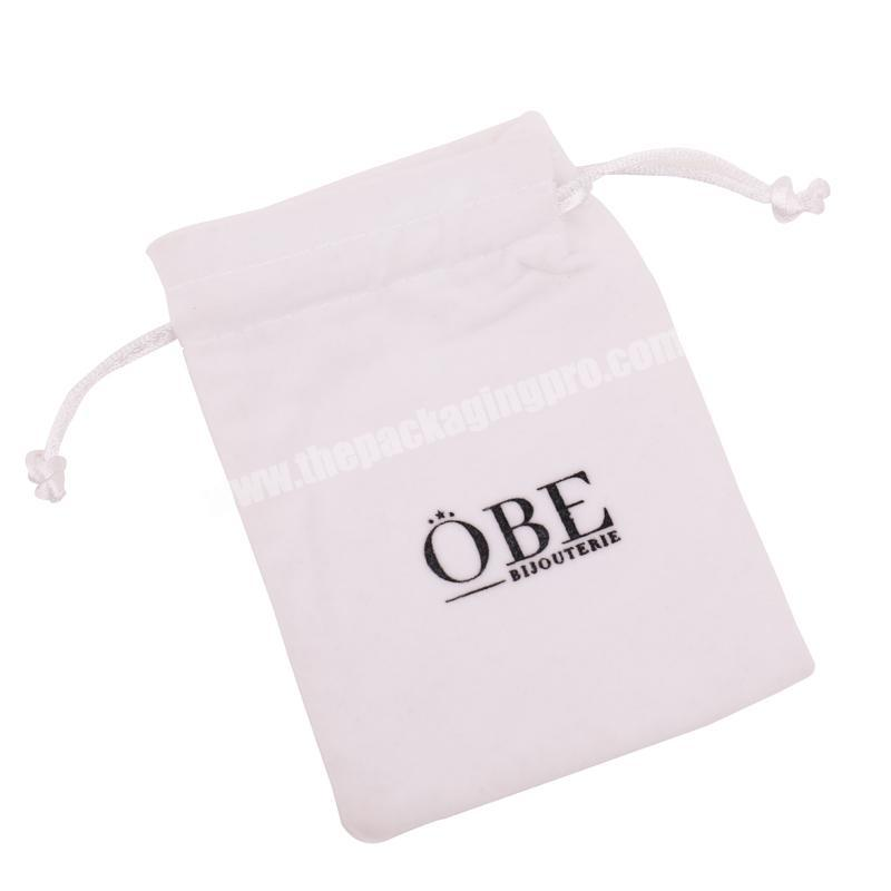 Velvet Drawstring Jewelry Pouch Bag For Jewelry Packaging