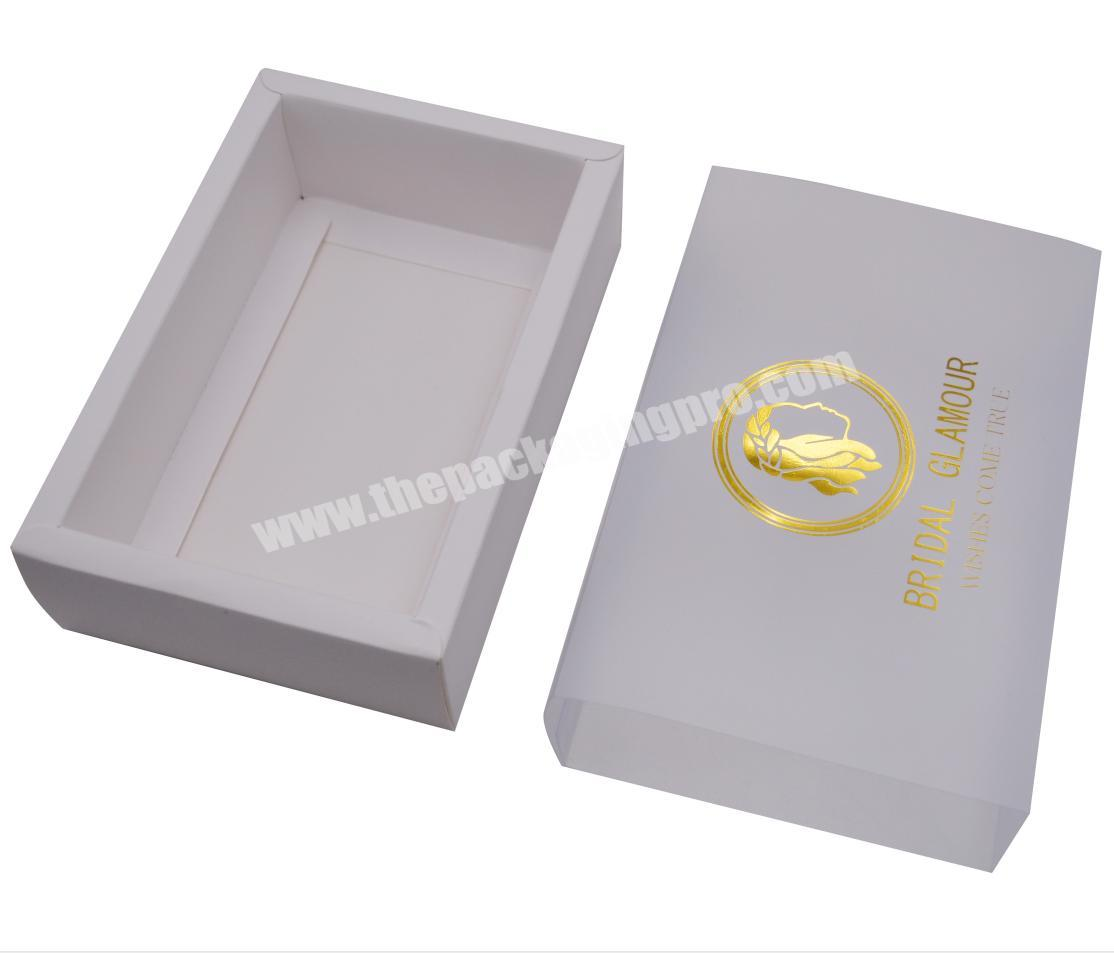custom logo cookies cake packaging box paper gift box with clear pvc window