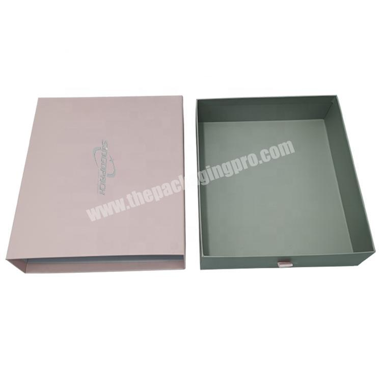 2020 Recommended Product Reasonable Price Durable Drawer Cardboard Gift Box Packing Boxes