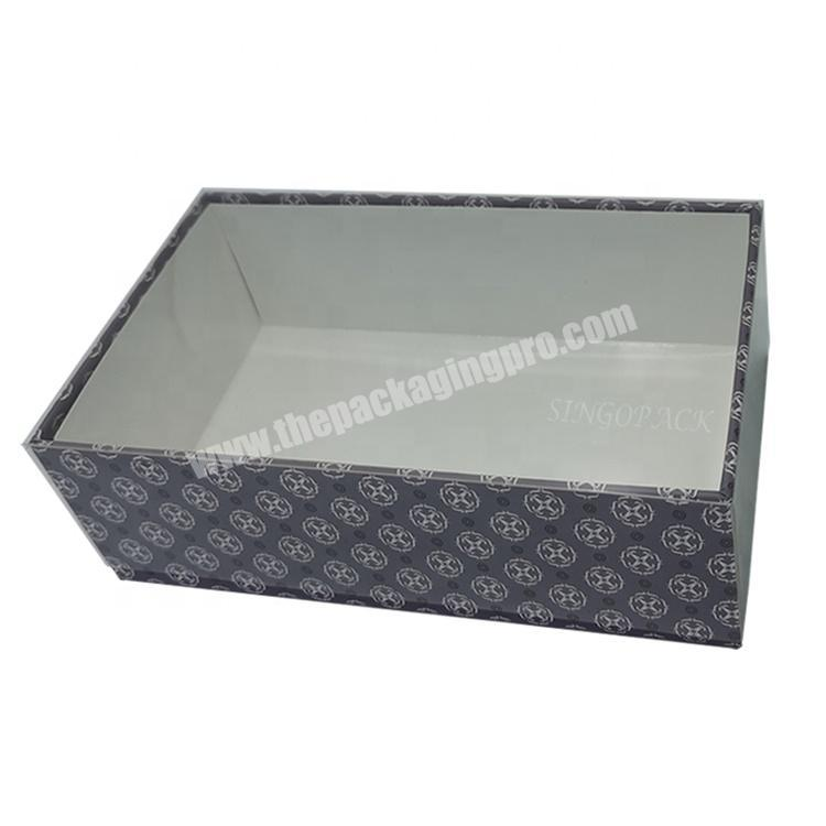 Most Good Feedback Product Top Quality Delicate Cardboard Packaging Box With Clear Lid