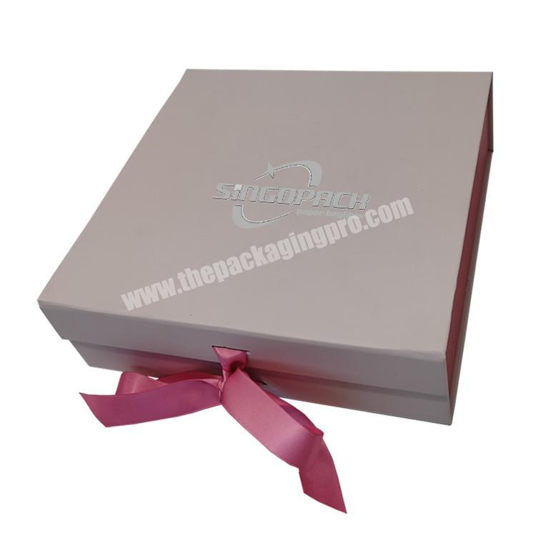 China Most Reliable Manufacturer Best Selling Durable Pink Packaging Fancy Gift Box For Sale
