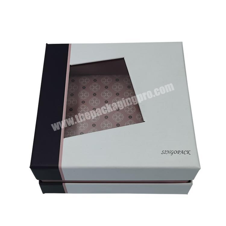 2020 Latest Product High Cost-Effective Top Standard Cardboard Box With Clear Lid