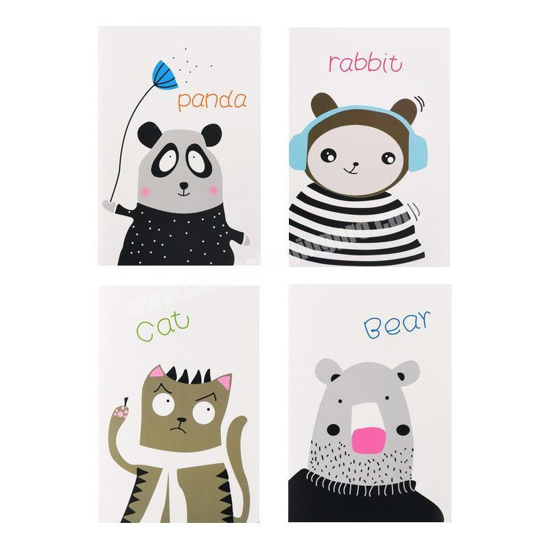 A5 cartoon animal girl cute notebook primary school students Notepad wholesale customized diary creative