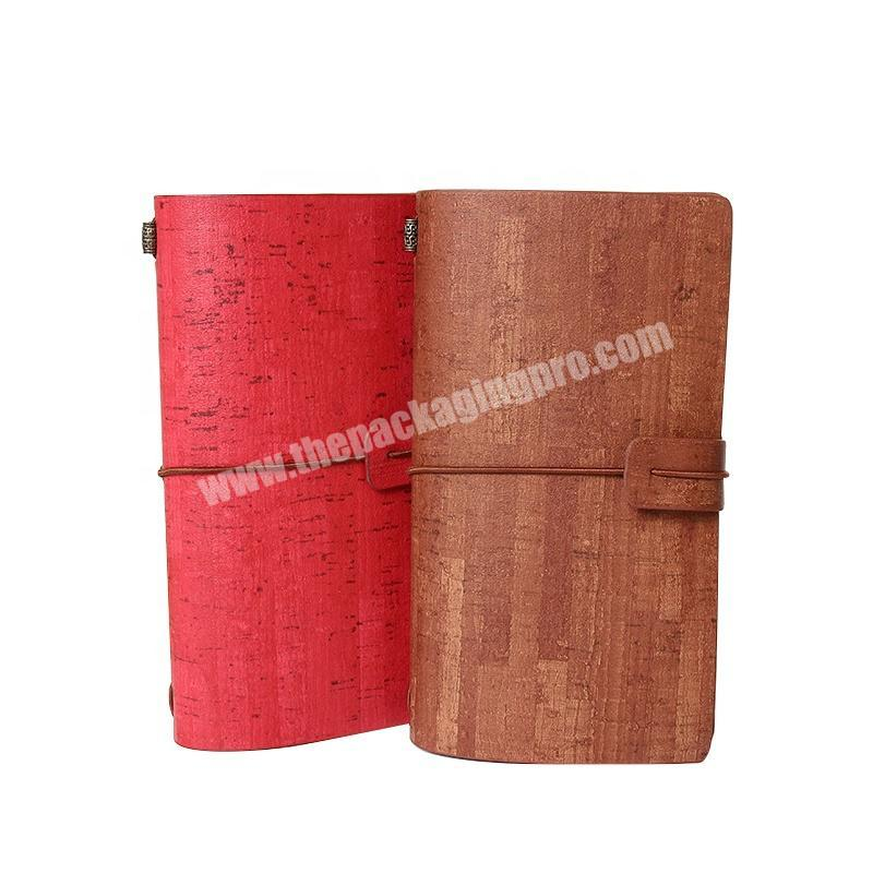 High Quality Custom Printed High Quality Hardcover PU Leather Journal Notebook