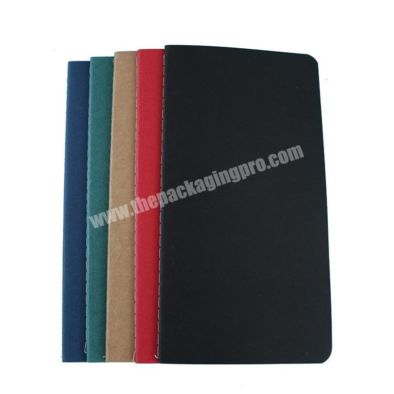 High quality Writing Plain Printed hardcover paper notebook with personalized logo