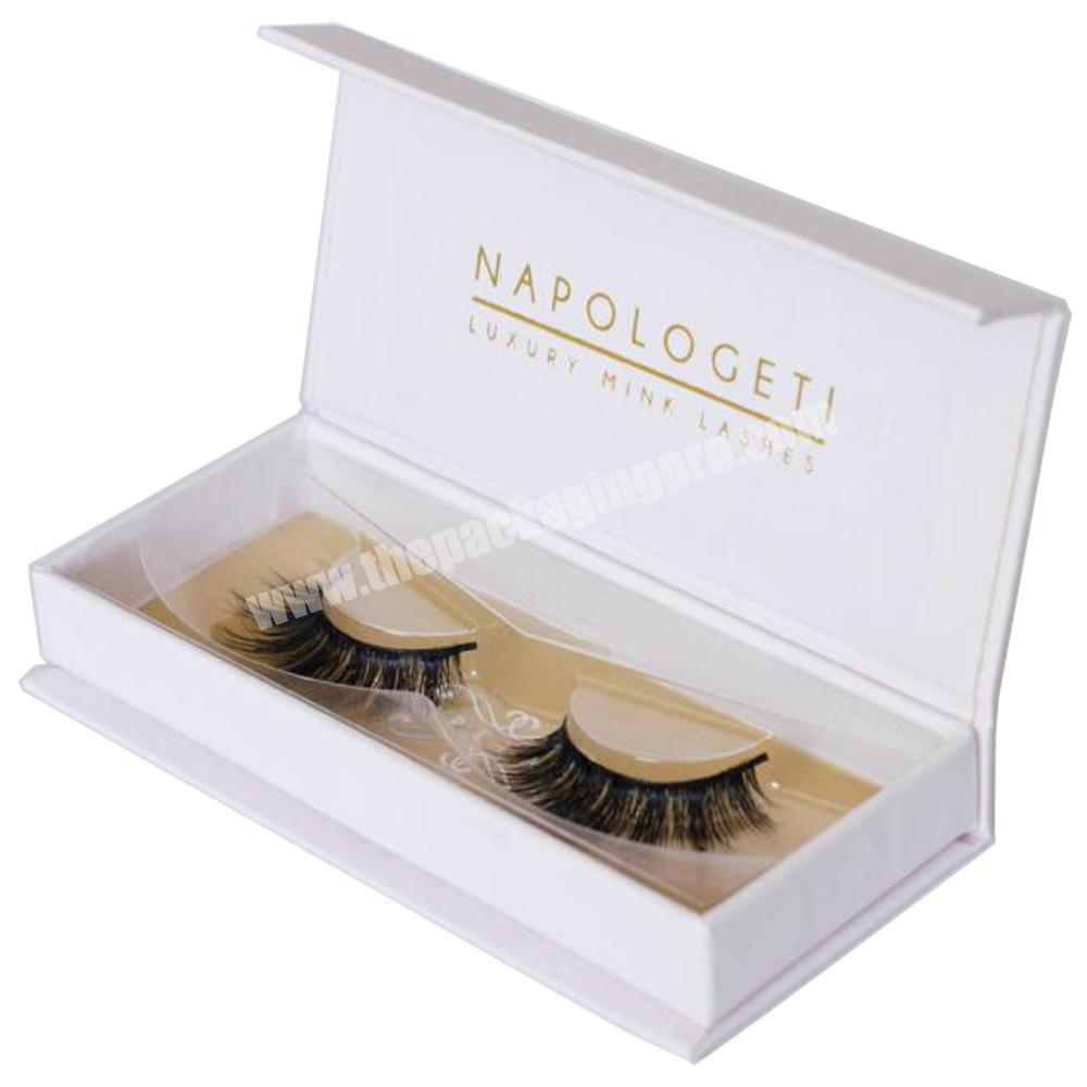 OEM printing high quality eyelash gift box packaging and eyelash packaging gift box wholesale in Shenzhen