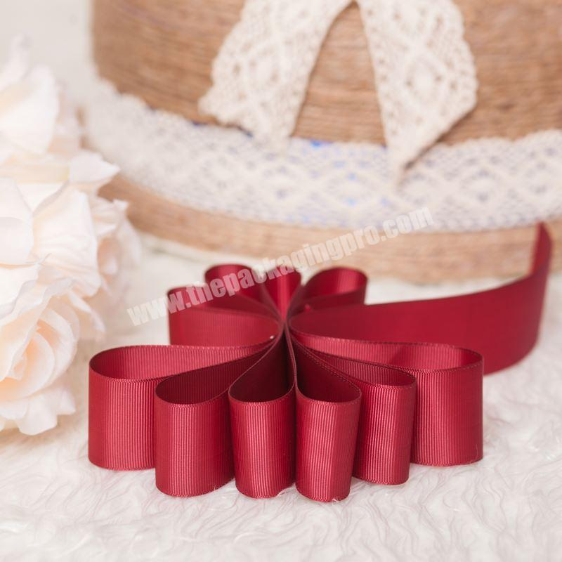 Supplier 3 Inch Grosgrain Ribbon Bow For Christmas Decorations