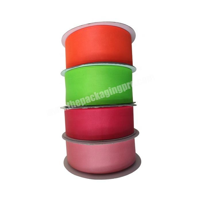 Supplier 4 inch Chinese high quality  wholesale  handmade all size grosgrain ribbon for all packing occasion