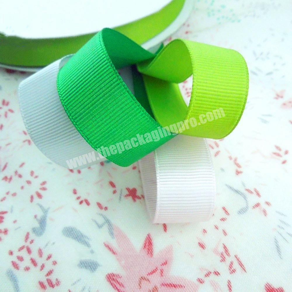 Shop 4 inch Chinese high quality  wholesale  handmade all size grosgrain ribbon for all packing occasion
