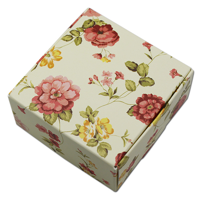 50pcs Lot Handmade Soap Packaging Paper Box Party Favor Jewelry