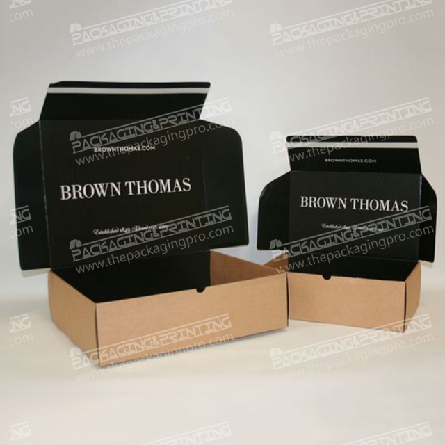 E-corrugated packaging box printing logo