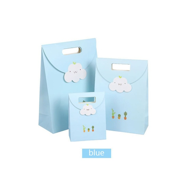 Exquisite Cloud Shape Gift Bag For Birthdays Party Holiday Paper Bags Gift Hot Sale