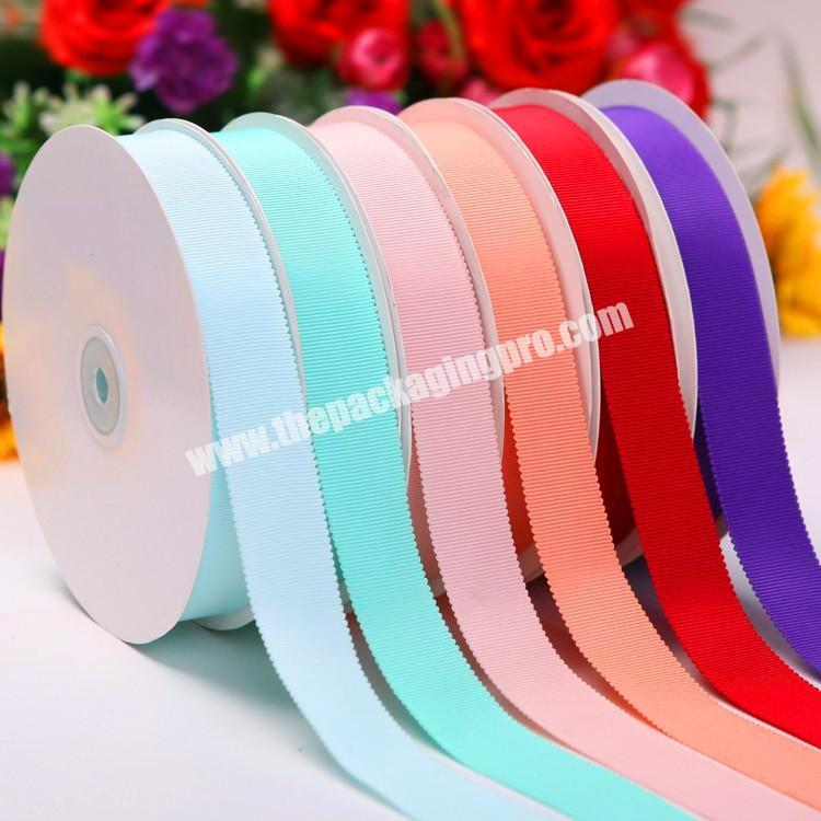 A variety of color cheap high quality  18 inch to  4 inch Chinese wholesale  handmade brown grosgrain ribbon for all occasion