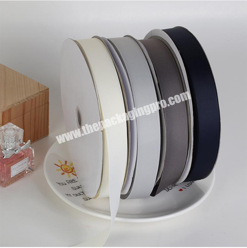 Wholesale A variety of color cheap high quality  18 inch to  4 inch Chinese wholesale  handmade brown grosgrain ribbon for all occasion