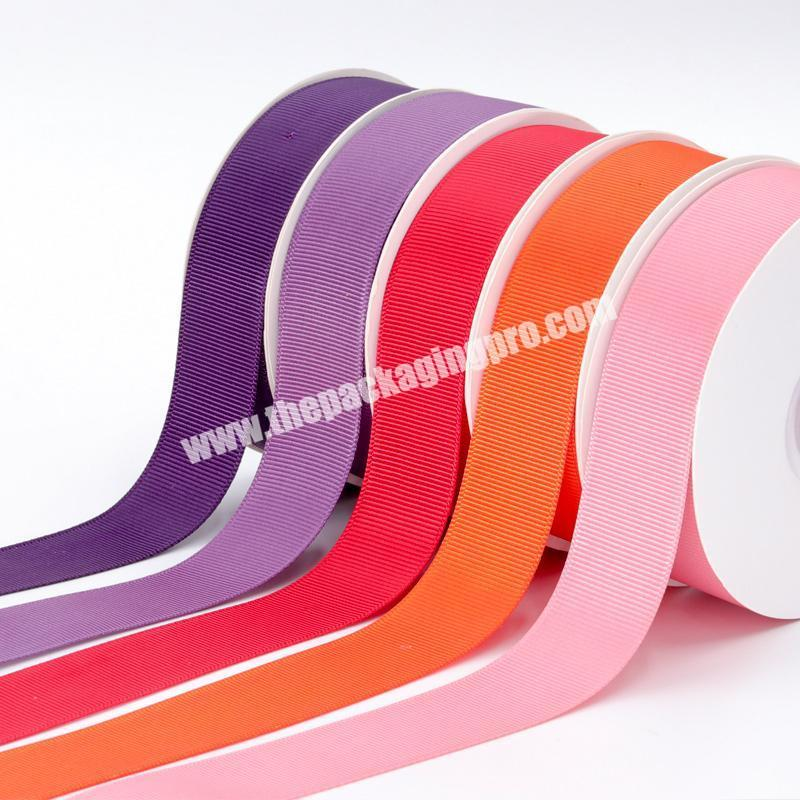 Shop A variety of color cheap high quality  18 inch to  4 inch Chinese wholesale  handmade brown grosgrain ribbon for all occasion
