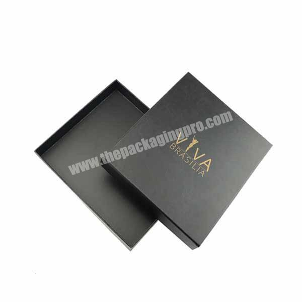 Accept Custom Order High Quality Paper Tie Packaging Box