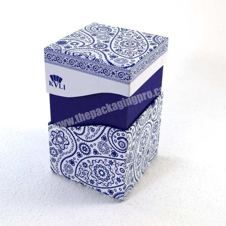 attractive design small liquor bottle gift box for perfume