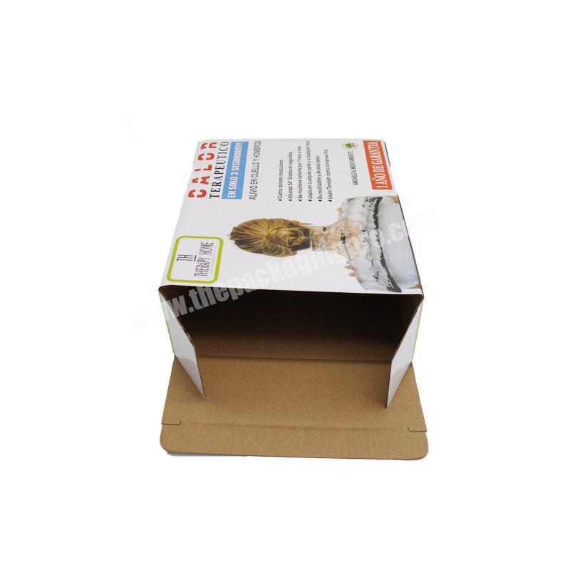 Best quality best selling folding glossy mailer box