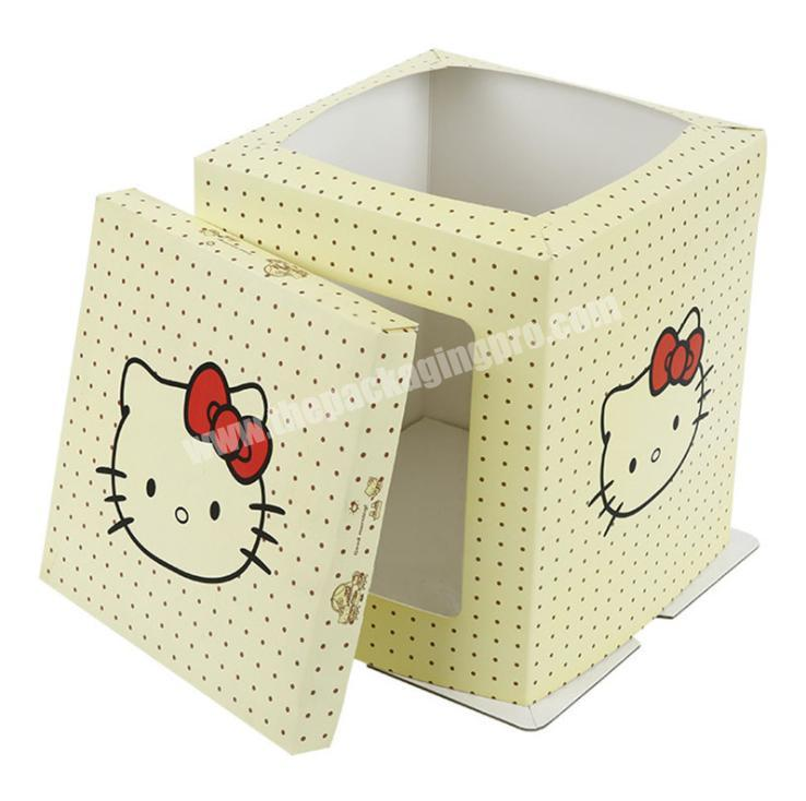 Best quality frozen food box packaging paper cake box