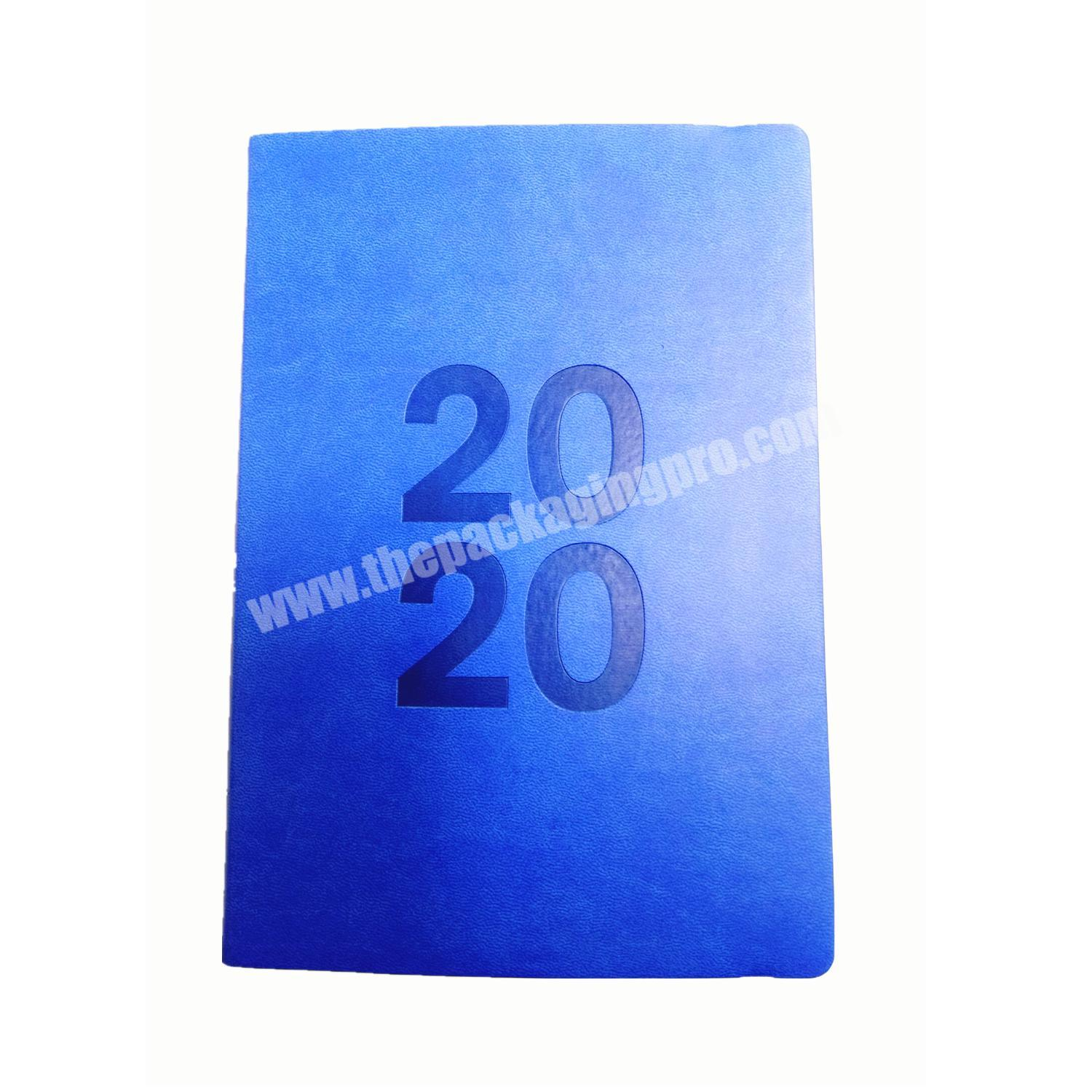Best Quality PU Leather Planner  Business Notebook School Diary For Student