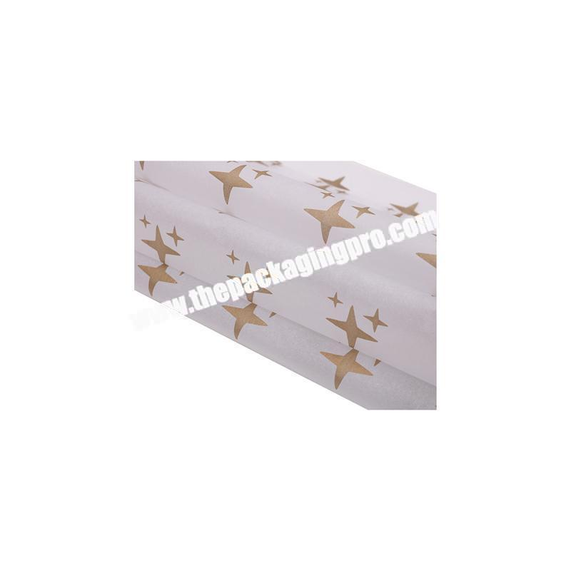 Custom Best seller color printing wrapping tissue paper