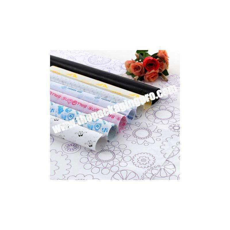Manufacturer Best seller color printing wrapping tissue paper