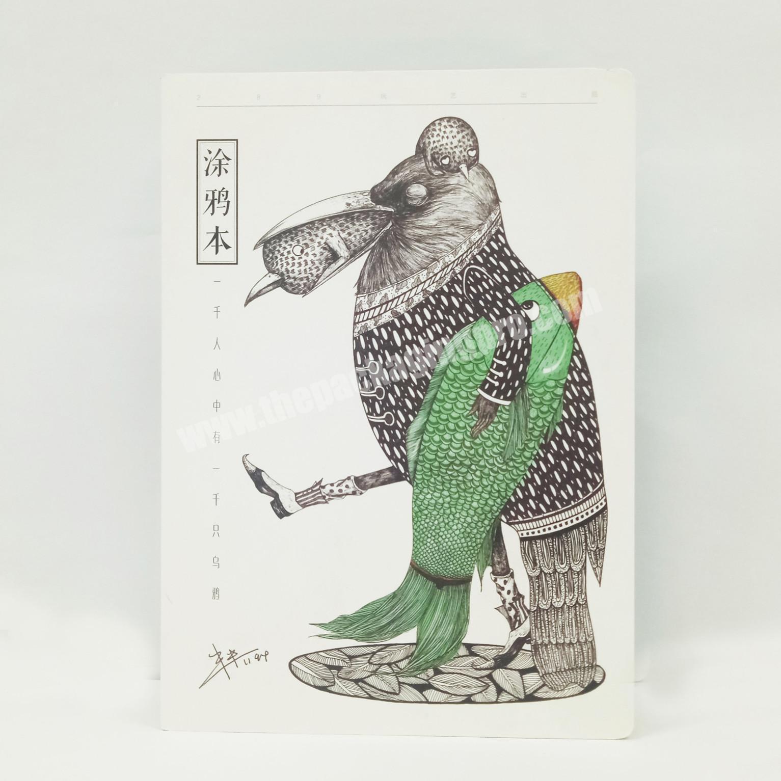 Best Selling A4 Hardcover Custom Classmate Notebook  Imaginative Graffiti book