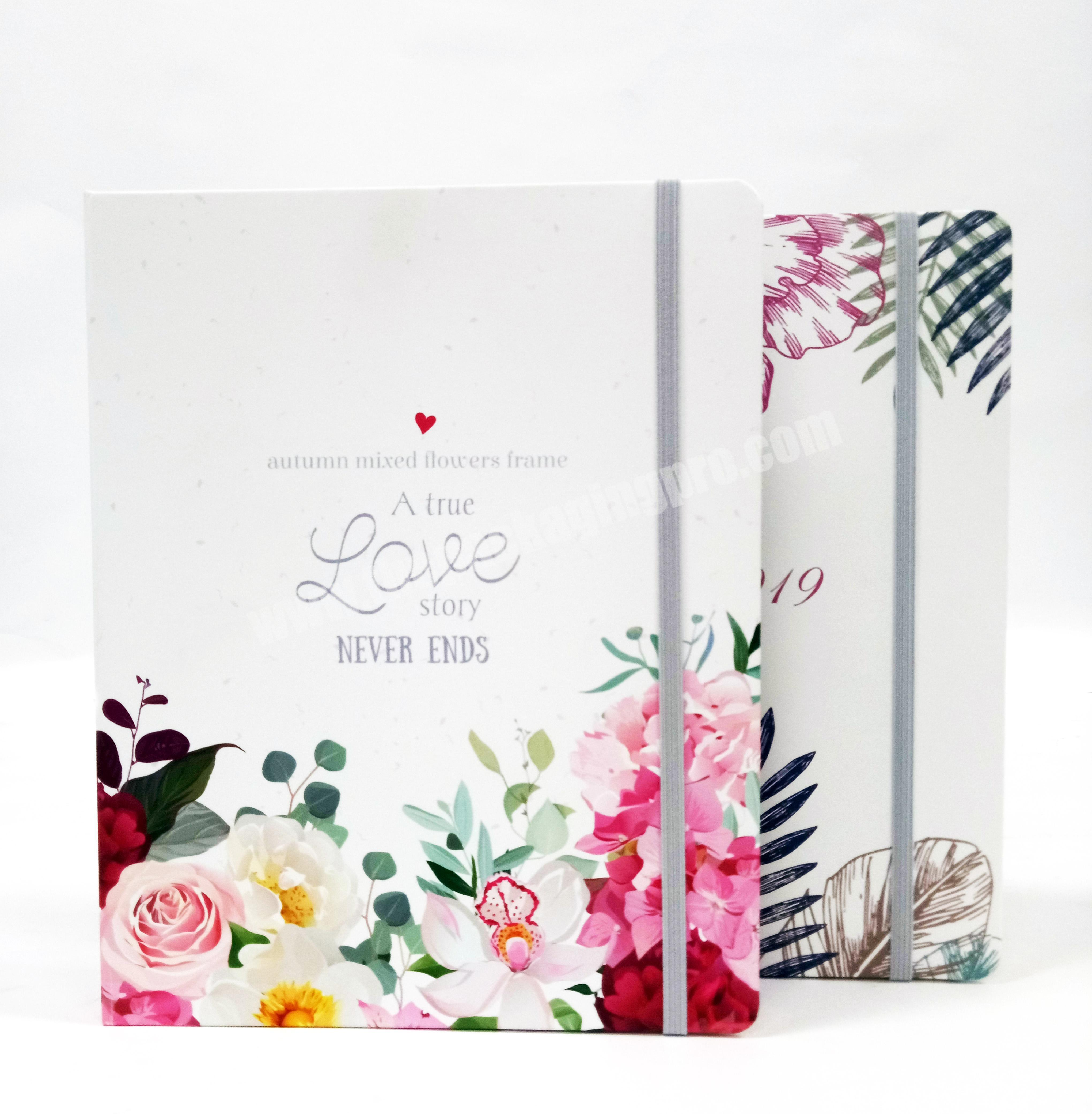 Best Selling A5 Vivid Paper  Hardcover Composition Spiral Diary