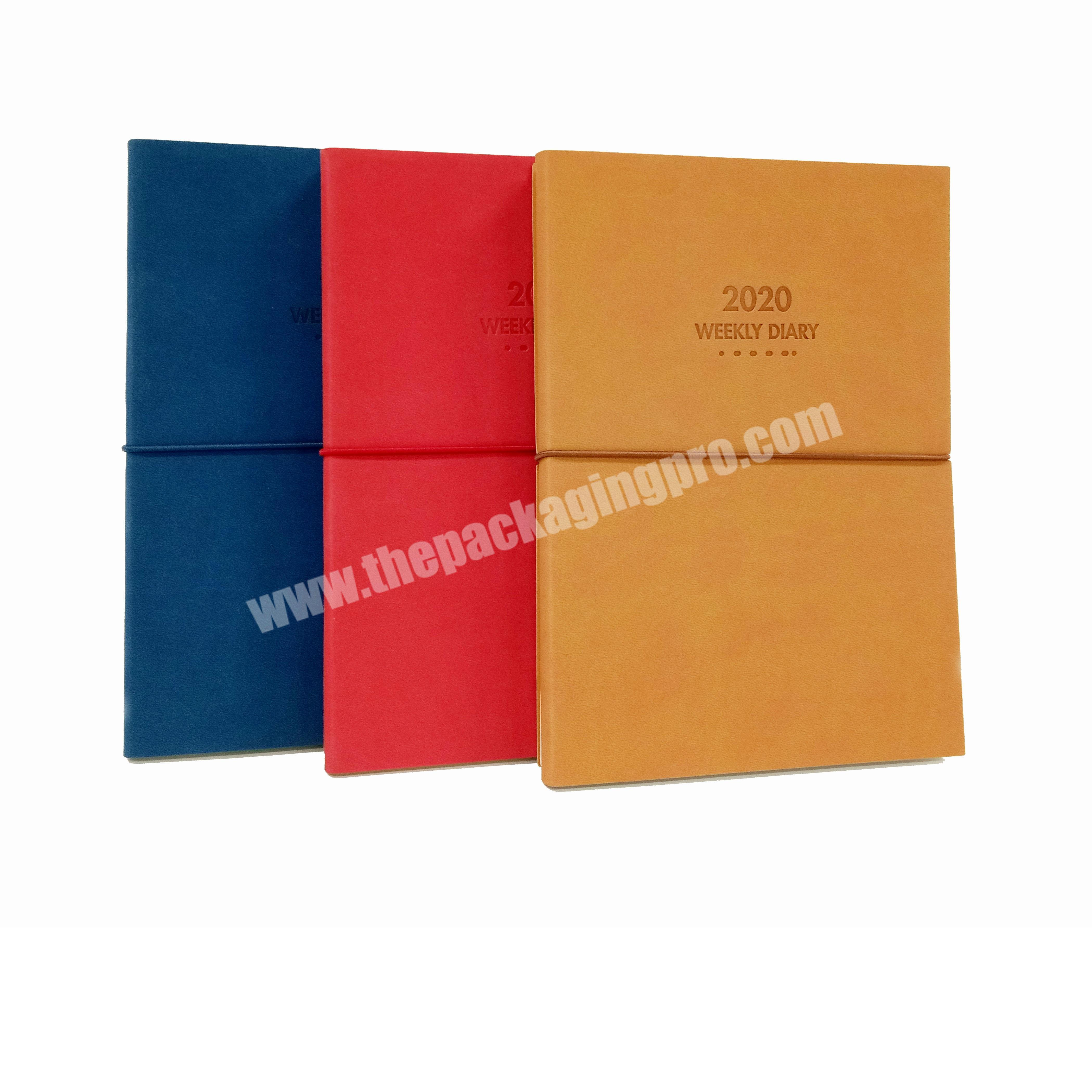 Best Selling Leather Reversible Business Notebook Student Diary
