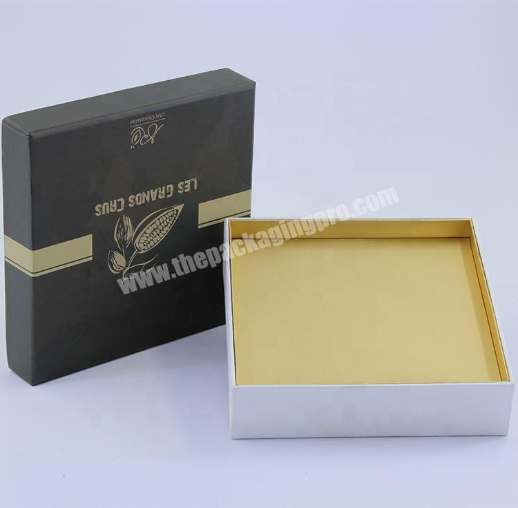 Biodegradable Paper High End Fancy Sweet Rigid Gift Boxes With Lid