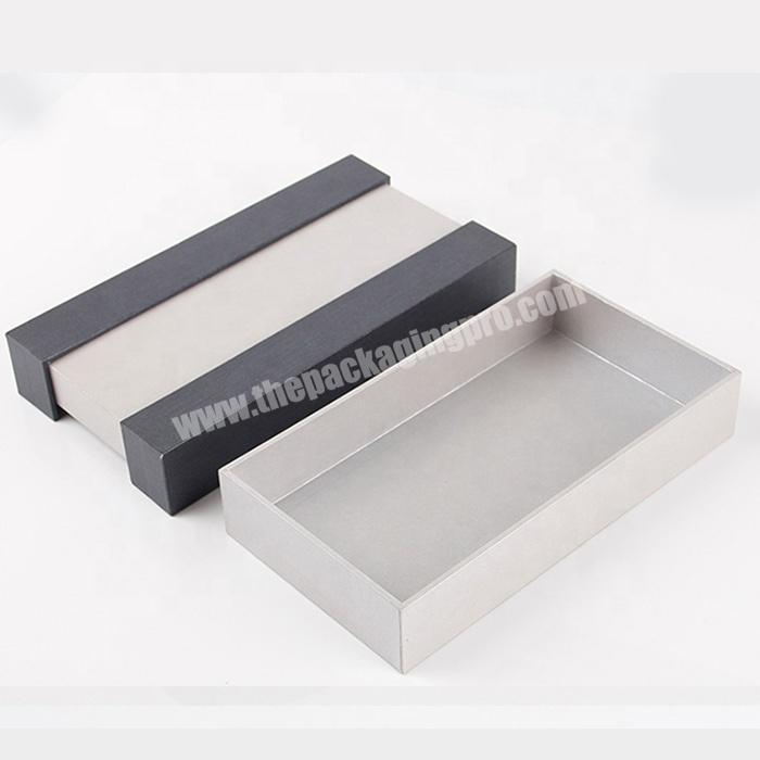 Wholesale black and white striped gift box cosmetic eyelash packaging sets