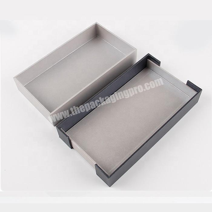 Manufacturer black and white striped gift box cosmetic eyelash packaging sets