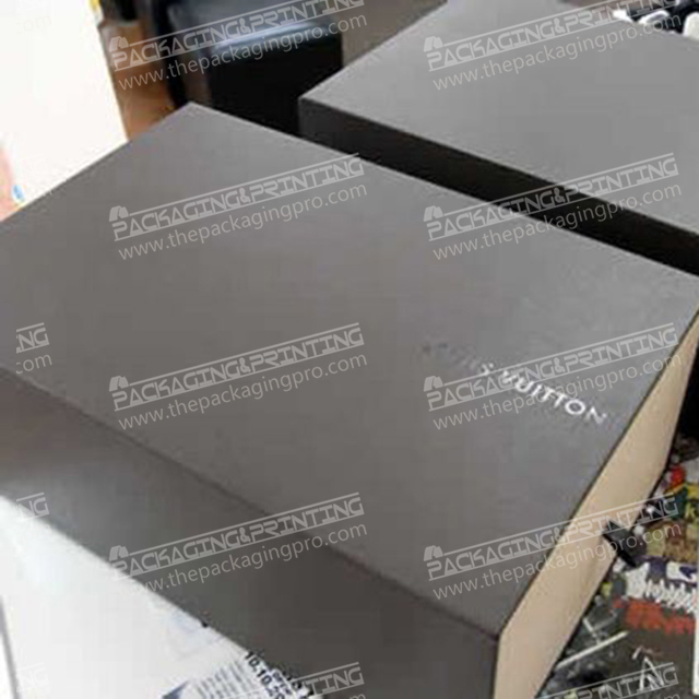 Black Drawer Simple Art Package Box
