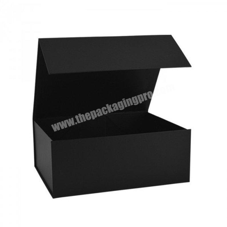Black Magnetic Gift Boxes Gift Packaging Rigid Boxes