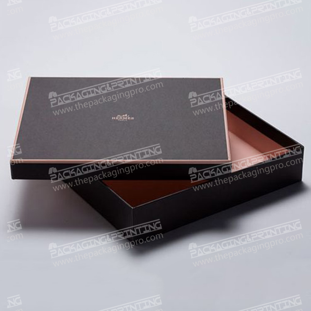 Black Special Paper Gift Packaging Boxes