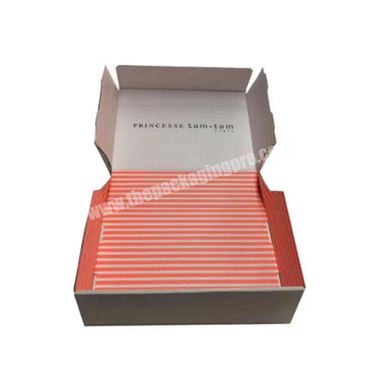 Manufacturer box clothing custom printed shipping boxes paper boxes
