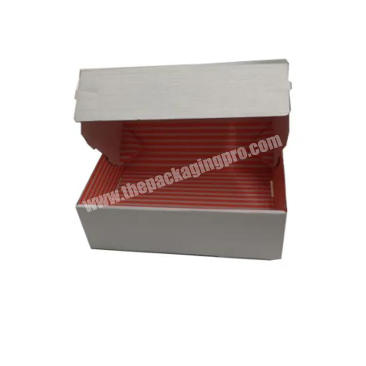 Supplier box clothing custom printed shipping boxes paper boxes