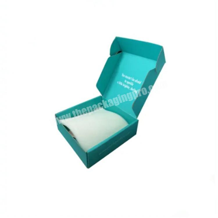box clothing private label shipping box paper boxes