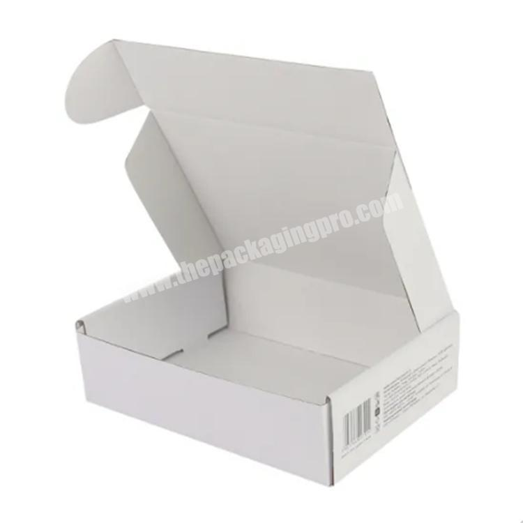 Factory box clothing product shipping boxes paper boxes